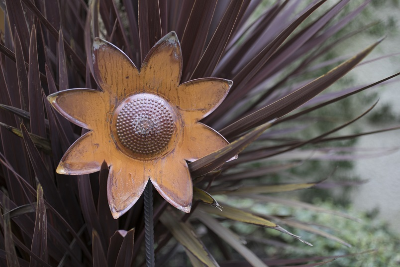 Steel sunflowers to be part of hospice show garden at RHS festival