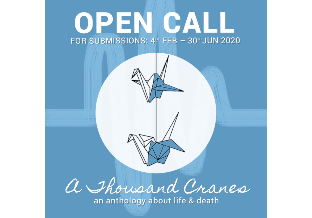 A Thousand Cranes – Open call for submissions to poetry anthology