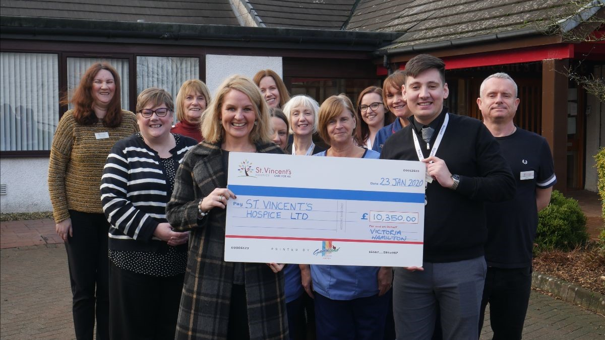 Hospice supporter raises £10k after estimating cost of father's care