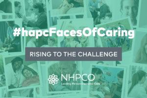 NHPCO's Faces of Caring social media campaign, #hapcFacesOfCaring
