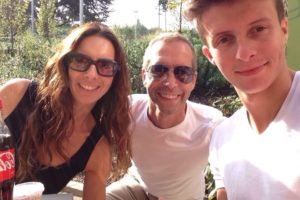 Jack with mum and dad