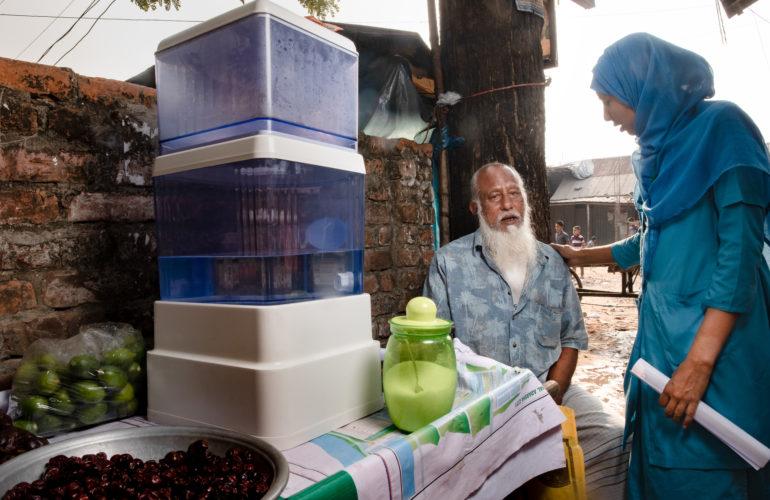Palliative Care Assistants in Dhaka help older people live better for longer