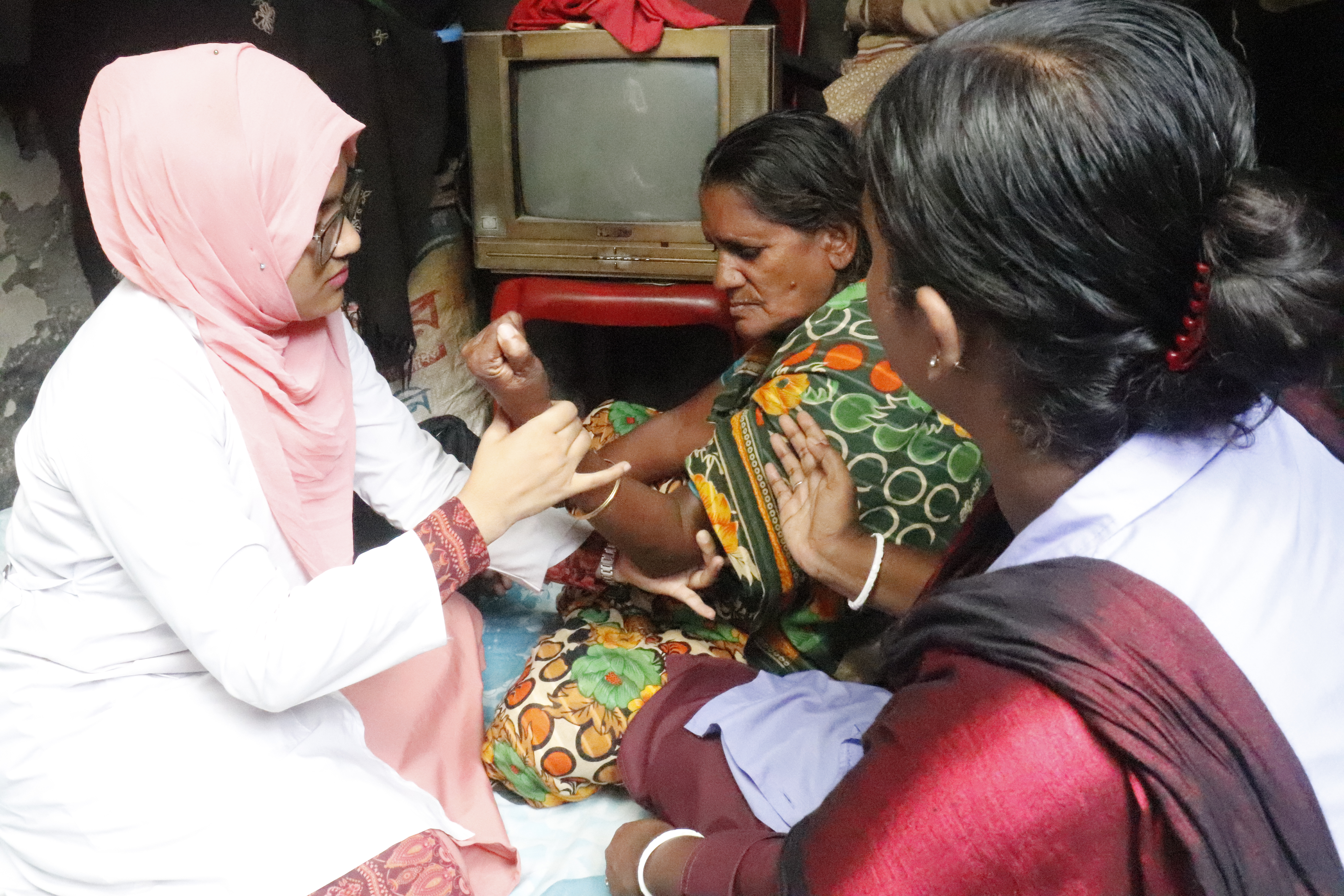 The restorative power of physiotherapy in palliative care in Bangladesh