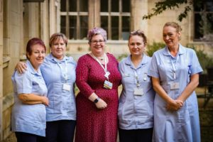 Sue Ryder Thorpe Hall Hospice Nurses 1 January 2020