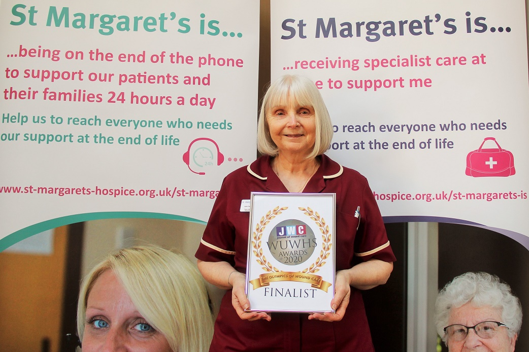 Somerset hospice nurse nominated for advances in pressure care