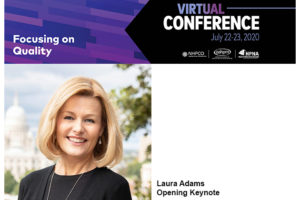 Laura Adams, opening keynote for 2020 Virtual Conference.