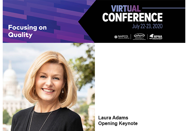 Laura Adams to be opening keynote for 2020 Virtual Conference
