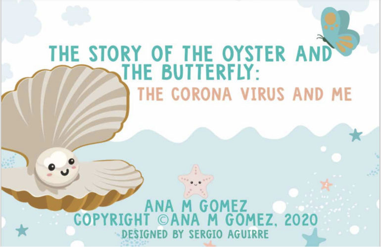 A beautifully illustrated book helps children understand COVID-19