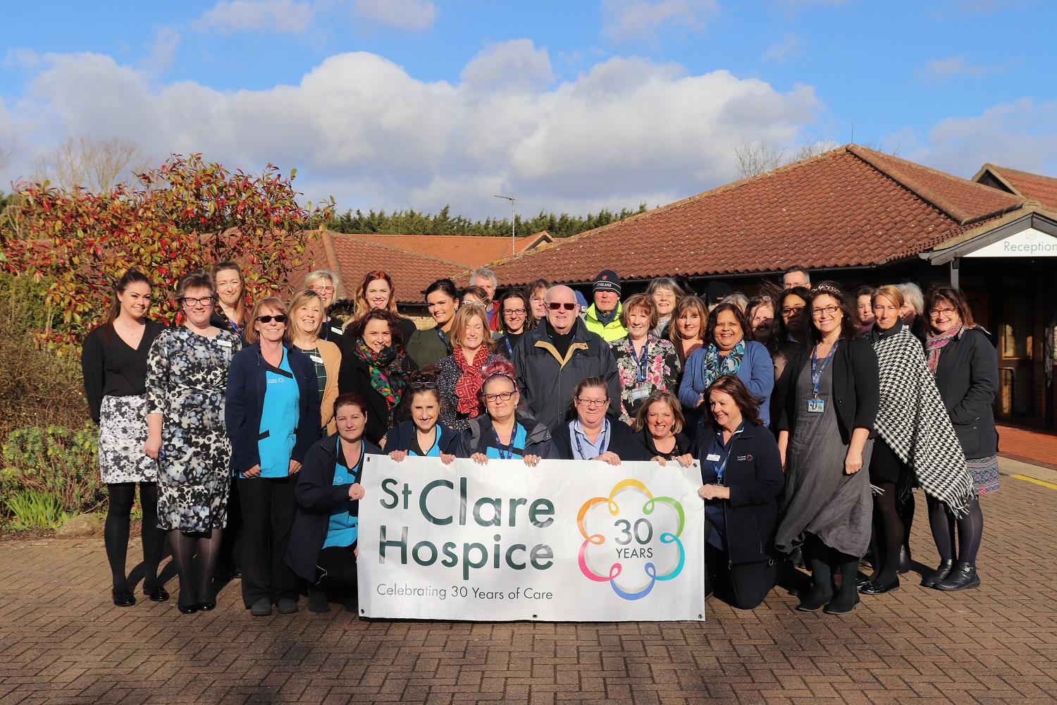 "St Clare Hospice rated ""outstanding"" by CQC"
