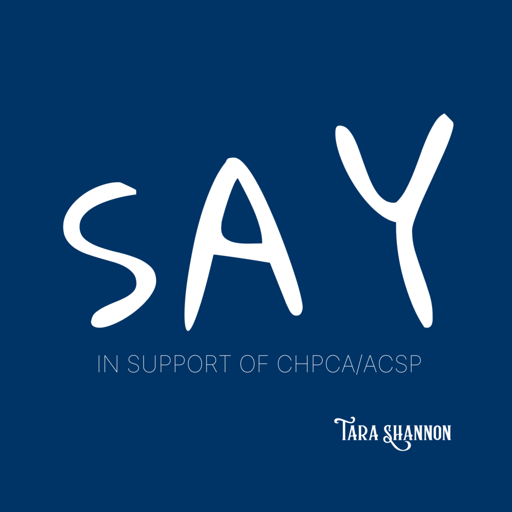 New Song by Tara Shannon about Advance Care Planning