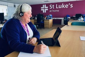 St-Lukes-Nurse-Video-Conferencing