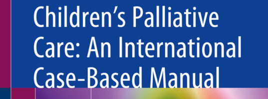 Publication of ICPCN's case-based manual on children's palliative care