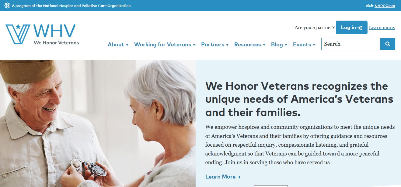 We Honor Veterans Program Launches New Website and Logo