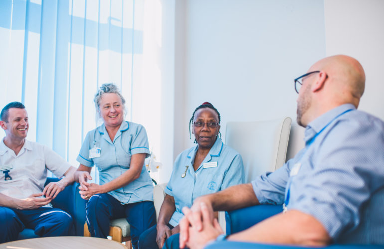 An international approach to the challenge of delivering quality end of life care, led by St Christopher's Hospice, London