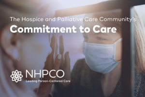 NHPCO COVID-19 Commitment to Care letter