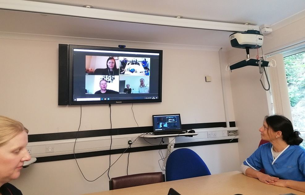 Hospice care goes virtual in response to Covid-19