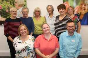 Photo 2 Compassionate Neighbours volunteers are making phone calls to isolated Care Home residents