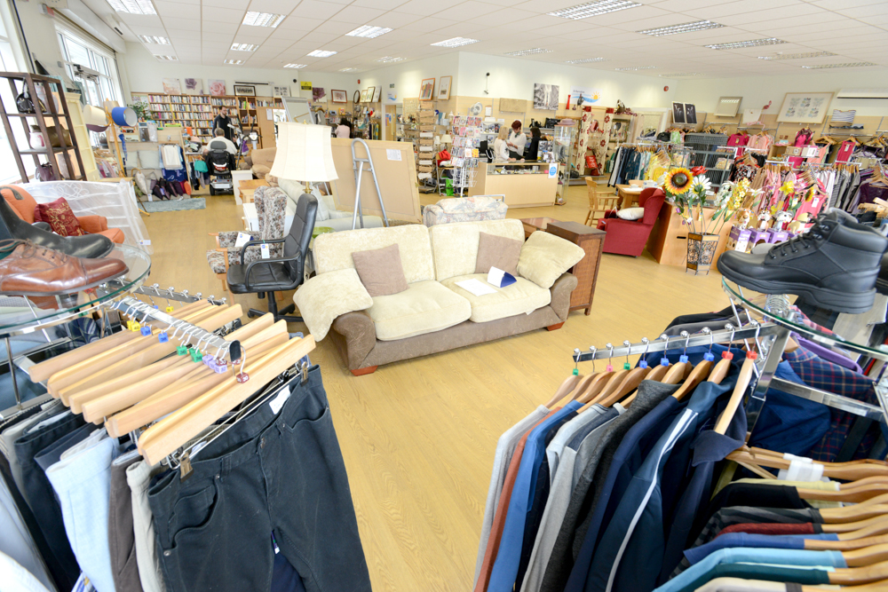 St Barnabas Hospice announces plans to reopen shops