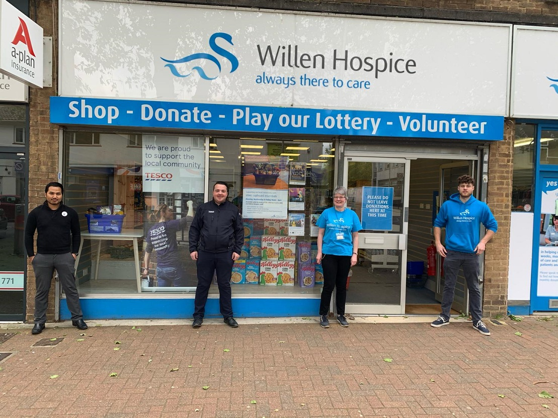 Hospice charity shop reopens to sell essential items to vulnerable customers