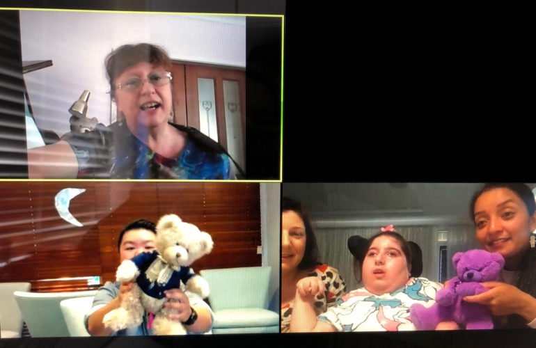 Music Therapy at home during COVID-19 – the Bear Cottage experience