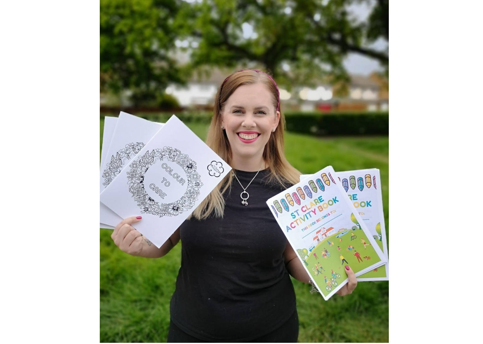 Colour to care: Hospice launches colouring and activity books to help ease anxiety and raise vital funds