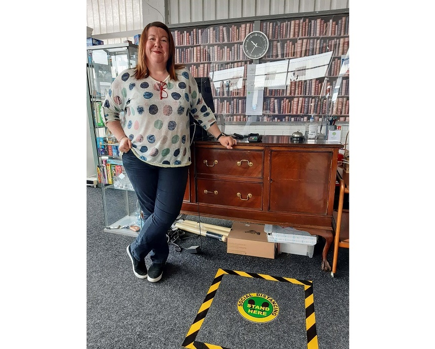 Hospice charity shops reopen with new safety measures