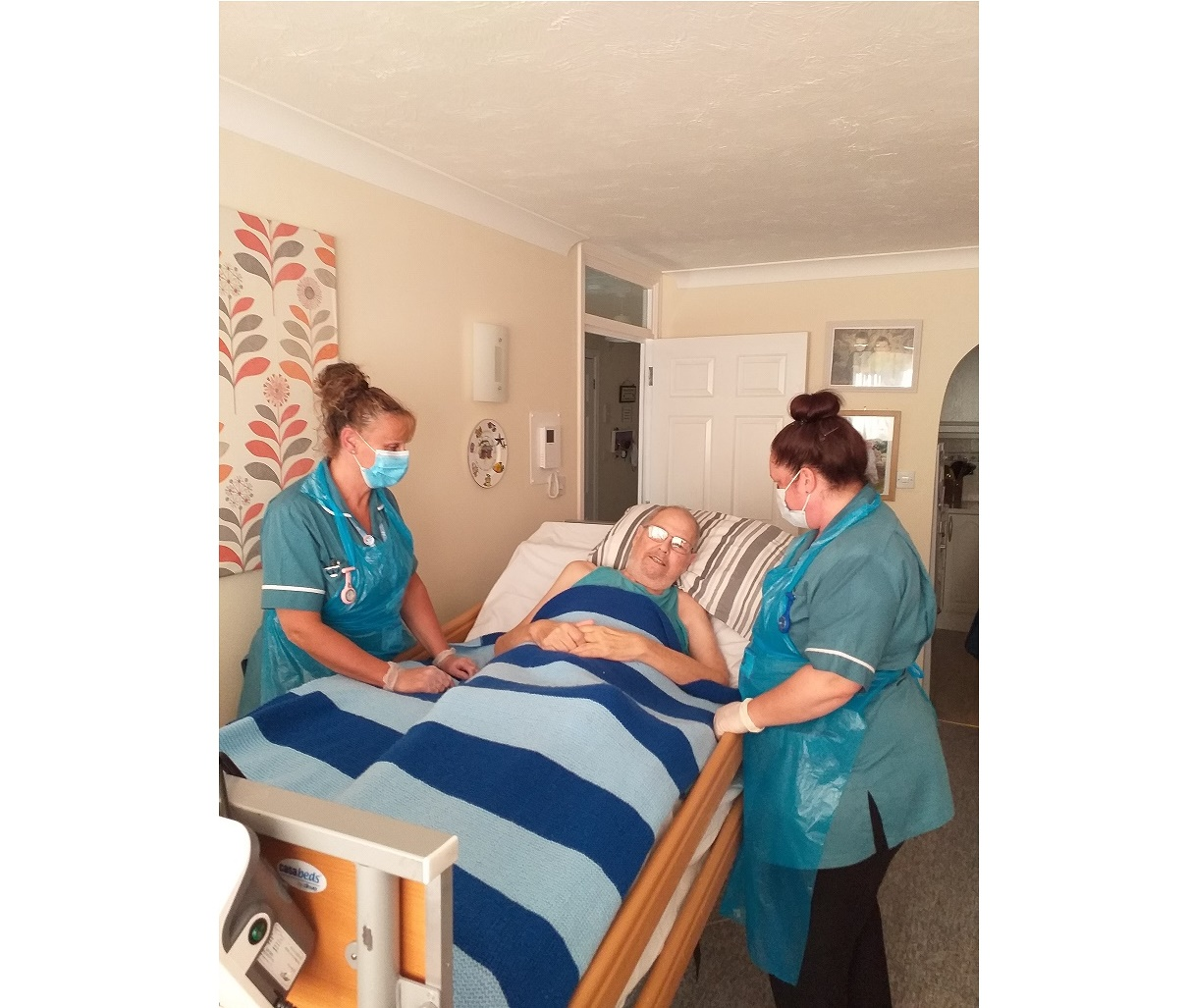 Hospice at Home service increases capacity to support patients and carers during Covid-19
