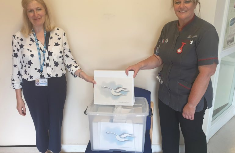 New end of life memory boxes will comfort relatives at Shropshire hospital