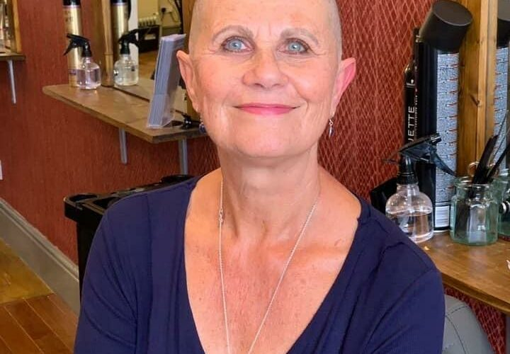 Woman who lost son to cancer aged 26 braves the shave for hospice