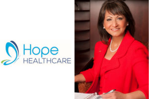 Hope Healthcare President and CEO Samira K. Beckwith