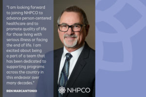 Ben Marcantonio Will Help Lead Person-Centered Care on National Level