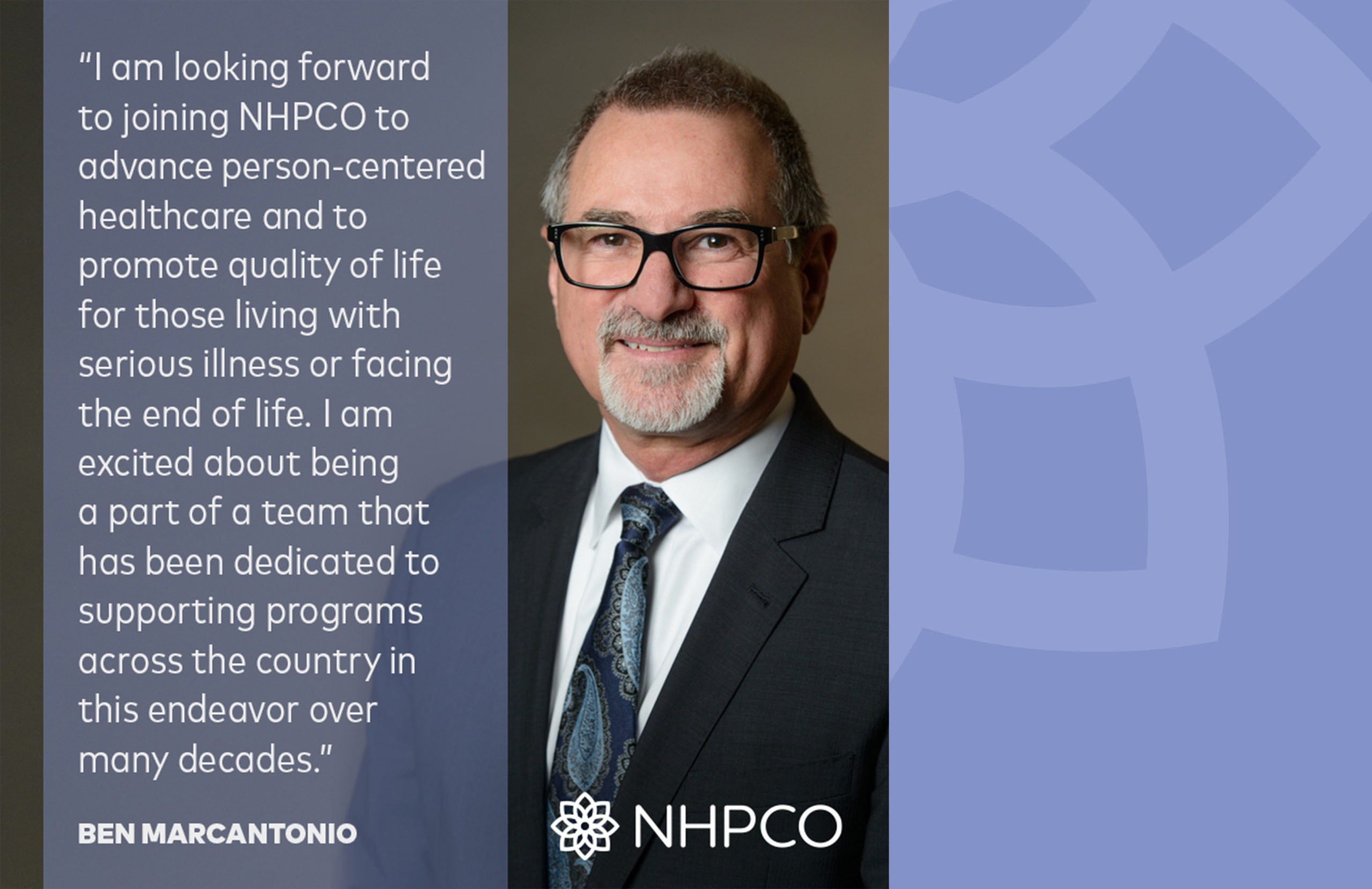 NHPCO To Welcome New Chief Operating Officer Ben Marcantonio