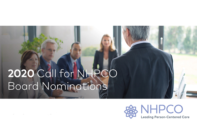 NHPCO Call for Board Nominations is Open