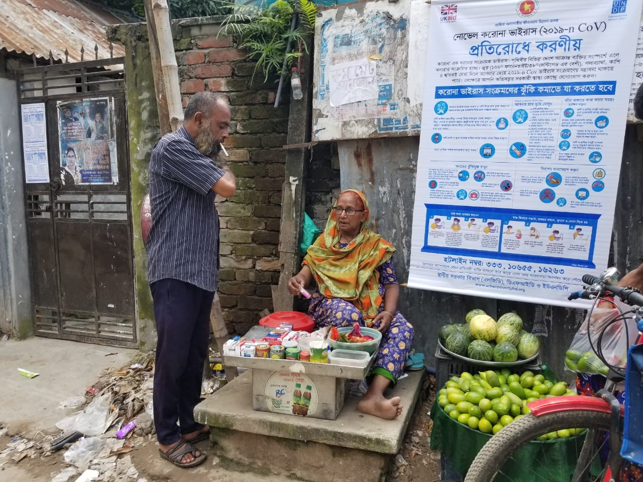 Making ends meet during COVID-19: Life in Korail Slum