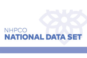 National Data Set is administered by NHPCO.
