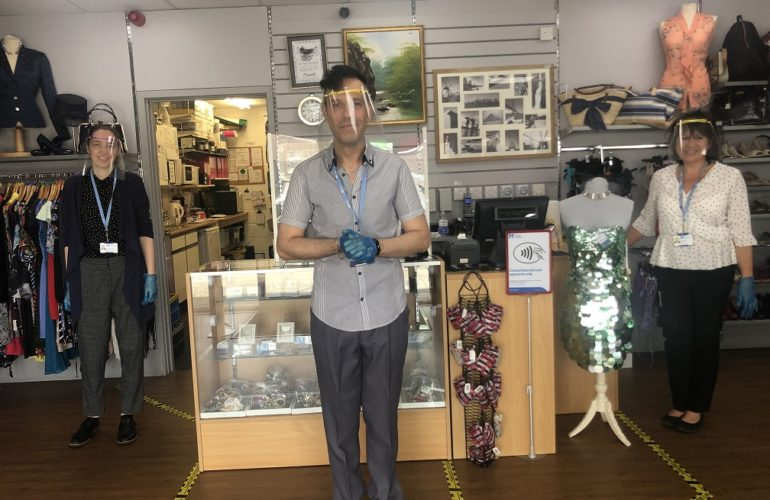 Havens Hospices charity shops receive warm welcome back into the community
