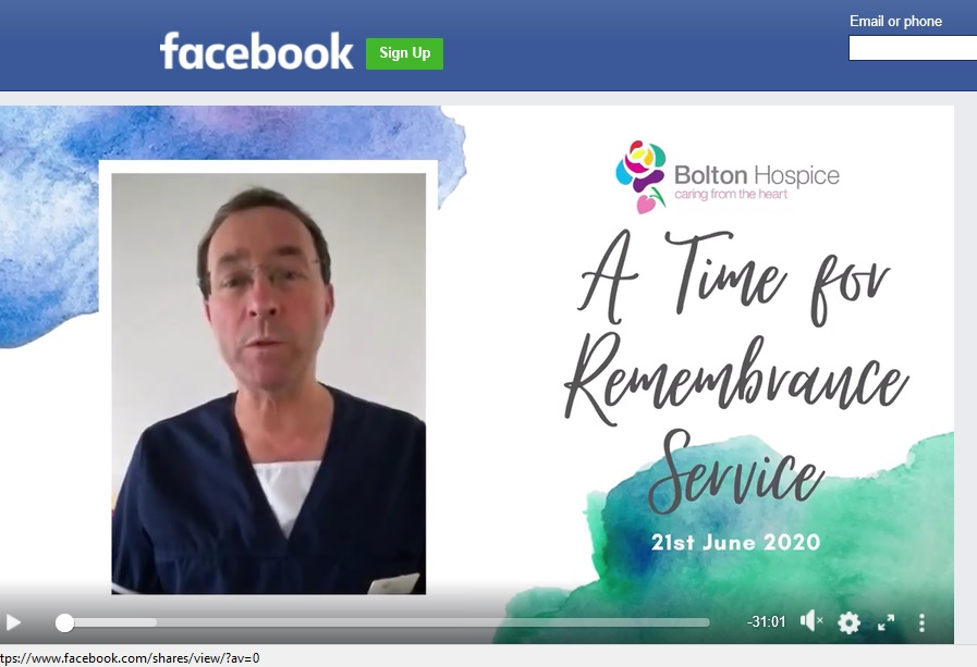 Hospices turn to virtual remembrance services due to Covid-19