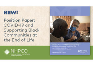 COVID-19 and Supporting Black C.ommunities at the End of Life