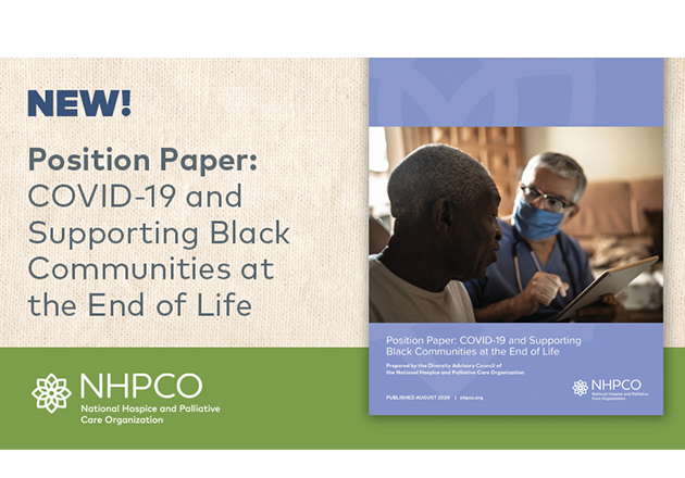 NHPCO Diversity Advisory Council Releases New Position Paper