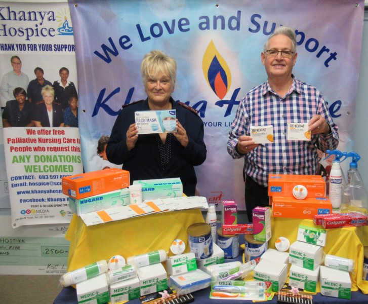 Khanya Hospice gives thanks for donations