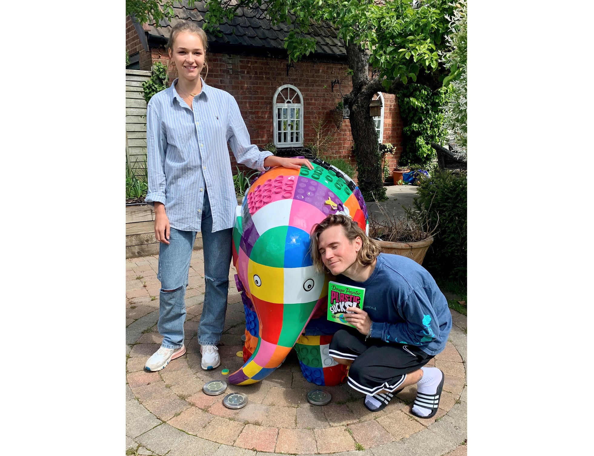 Elephant statues from Ipswich art trail find new homes in support of hospice