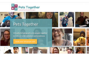 Animal Farm Foundation Launches Pets Together Program