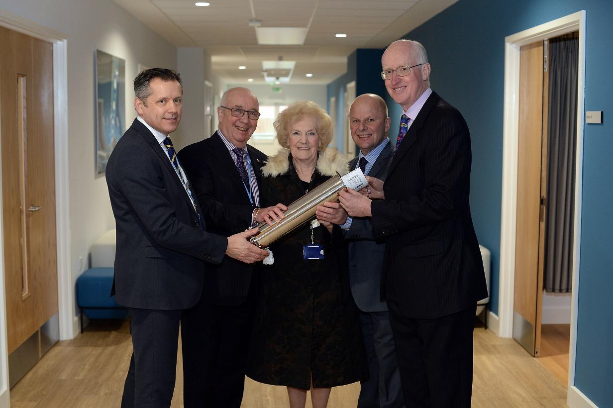 Hospice pays tribute to longest serving, award-winning volunteer