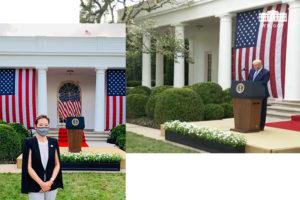 White House briefing on Coronavirus testing on September 28, 2020.
