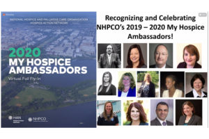 HAN and NHPCO announce the recipients of this year's My Hospice Ambassador Awards.