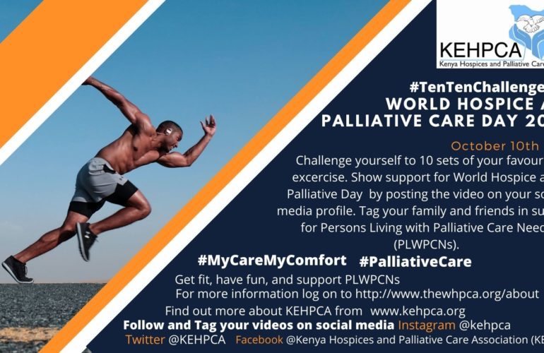 World Hospice and Palliative Care Day 2020 #10TenChallenge