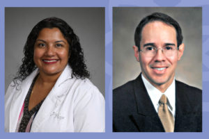 Hope Healthcare's Chief of Medical Services Dr. Luis Cortes and Associate Medical Director Dr. Sheeja Kanacheril