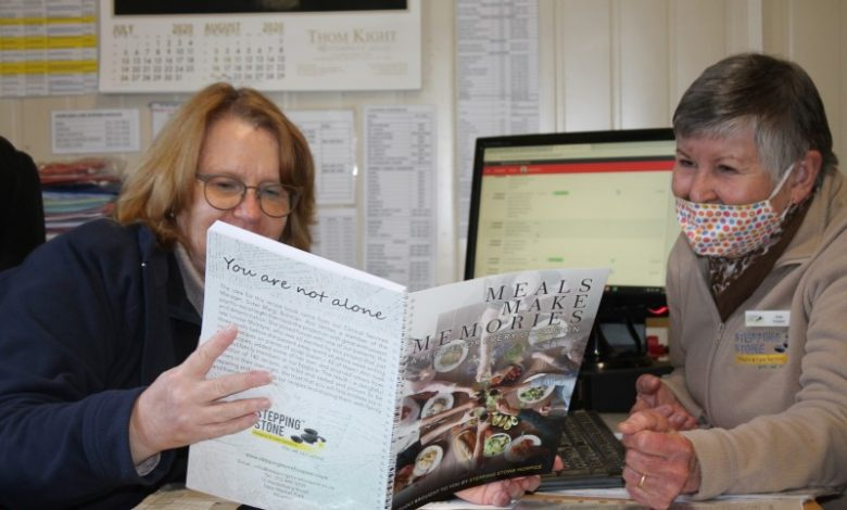 Stepping Stone Hospice publishes recipe book