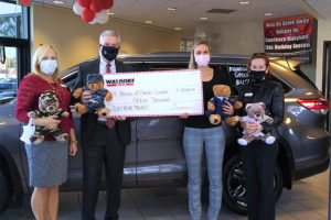 Waldorf Toyota funds Teddy Bear Project for Hospice of Charles County for second year   Waldorf Toyota funds Teddy Bear Project for Hospice of Charles County for second year