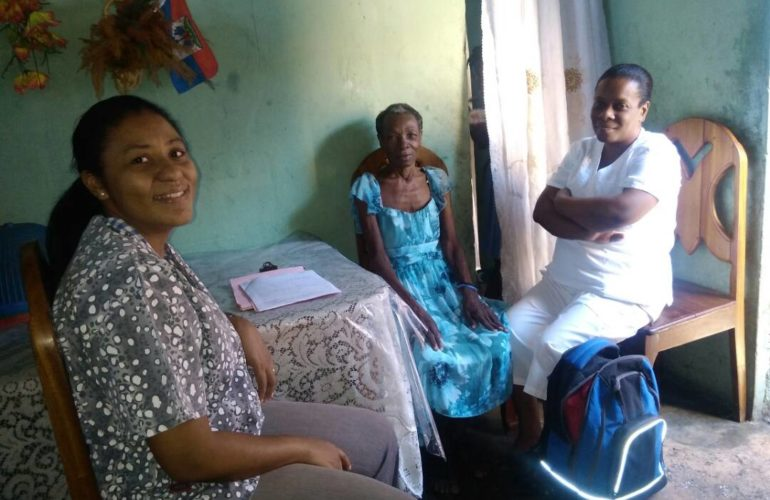 Haiti community palliative care project improves the lives of patients and their loved ones